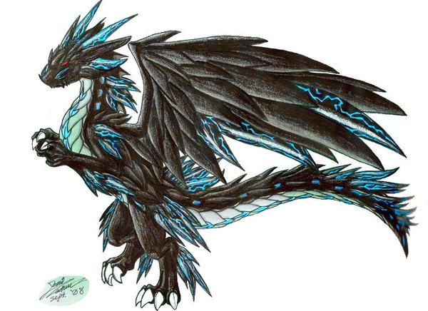 Lightning Dragon by Vashcoon on DeviantArt