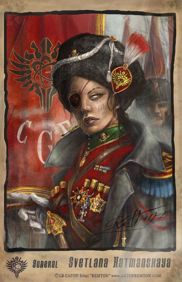 General S.Hatmanskaya by Remton