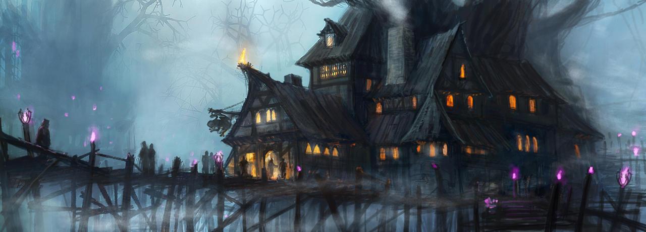 Taverna Filhos da Noite Swamp_tavern_by_remton-d7ls07w