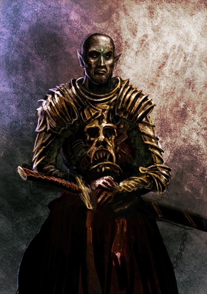 Dark Elf Guard by Remton
