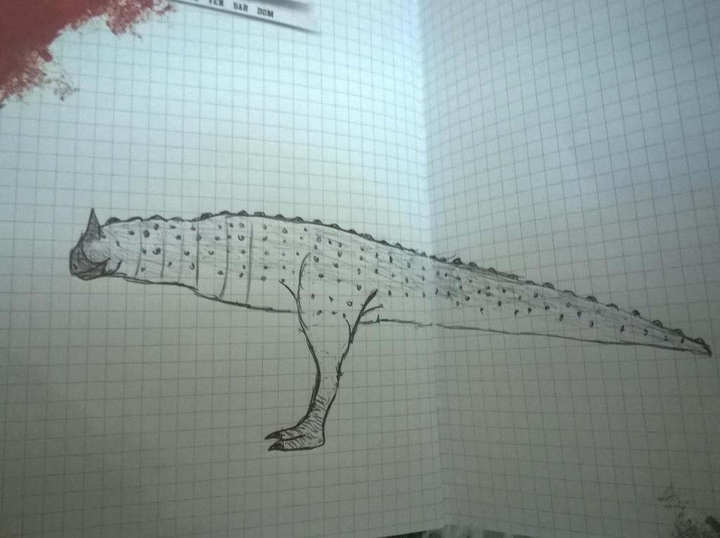 Carnotaurus by Lorenzo-Franzese
