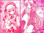 Pink Anime Girls