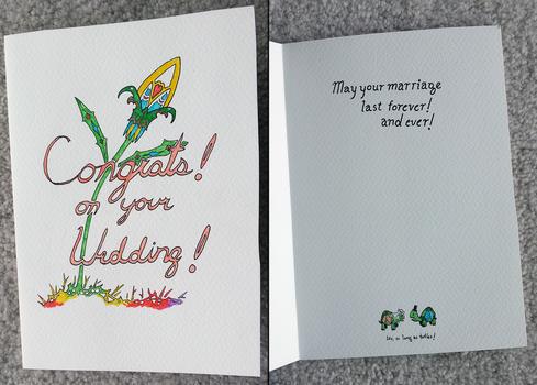Congratulations! on your Wedding!