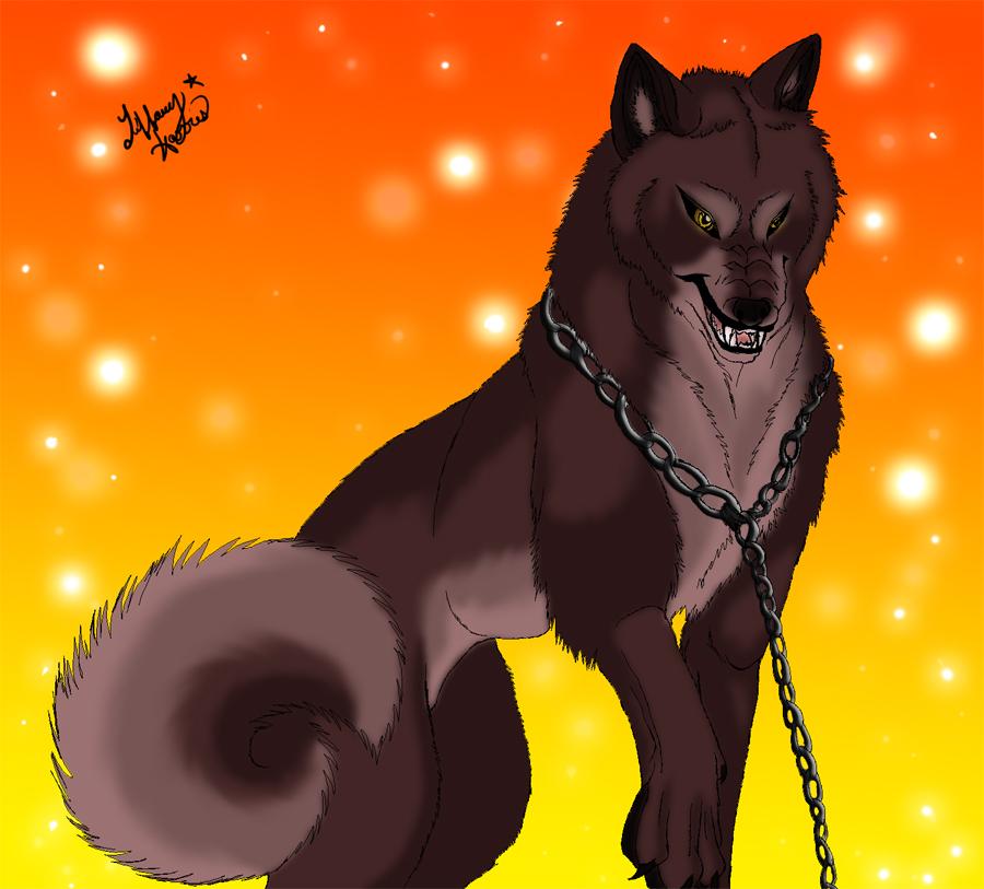 Angry Wolf Anime