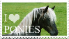 I Love Ponies Stamp by 123Stamps123