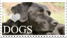 I Love Dogs Stamp by 123Stamps123