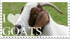 I Love Goats Stamp by 123Stamps123