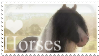 I Love Horses Stamp by 123Stamps123