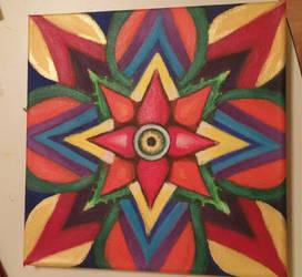 Kaleidoscope eye