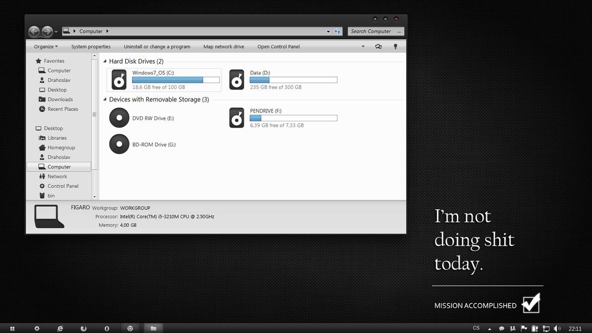 My desktop by Drahoslav7