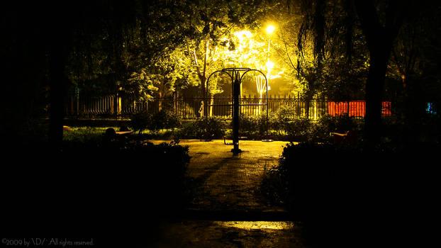 A beautiflu summer night by Dragonlongs