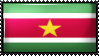 Republic of Suriname by Flag-Stamps