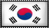 Republic of Korea by Flag-Stamps
