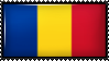 Romania / Chad by Flag-Stamps