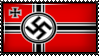 War Ensign of Germany 1935-1938 by Flag-Stamps