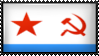 Naval Ensign of the Soviet Union by Flag-Stamps