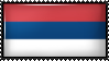 Civil Flag and Ensign of Serbia by Flag-Stamps