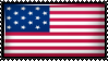 Star Spangled Banner flag by Flag-Stamps