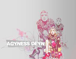 Agyness Deyn by awesomestyle