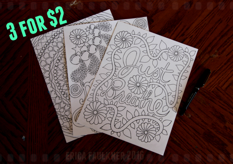 Coloring Pages... 3 for 2 by Anj3L