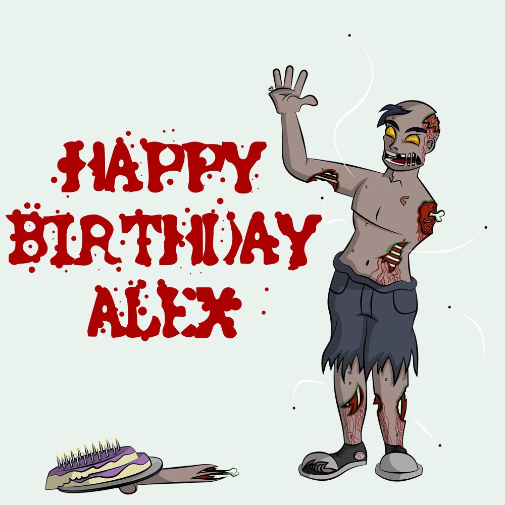 Comics Birthday Crazy Cake