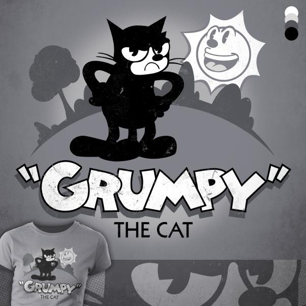 Grumpy The Cat by jonhavens