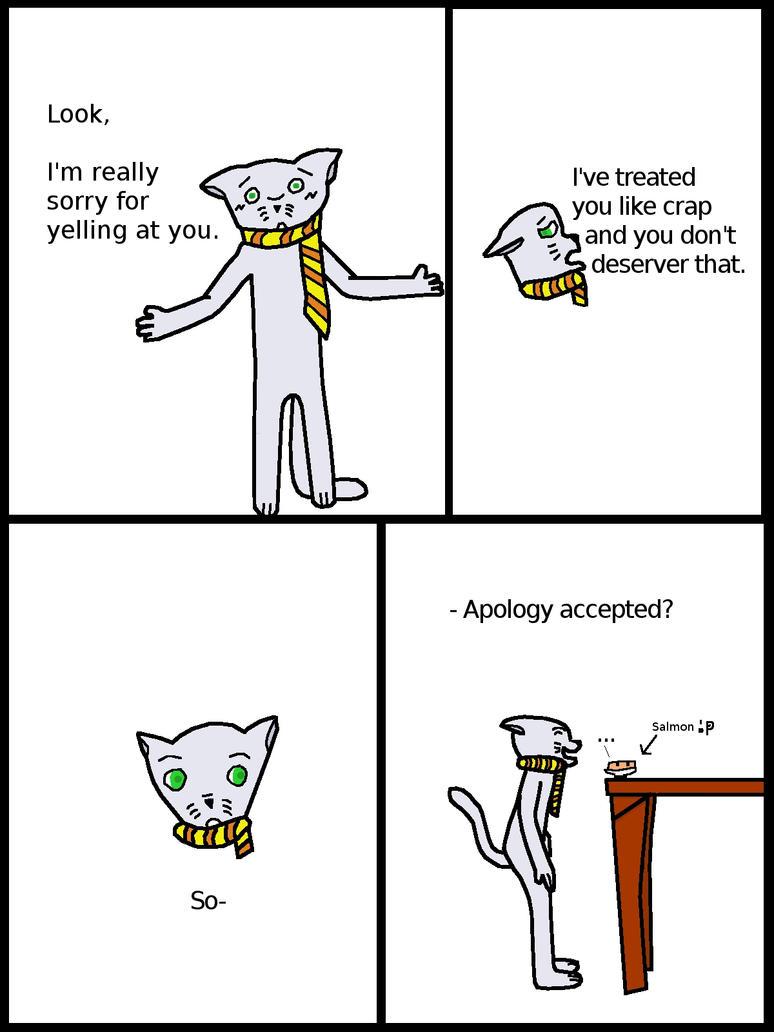 Mike Apologizes 'colored' by KuroKan