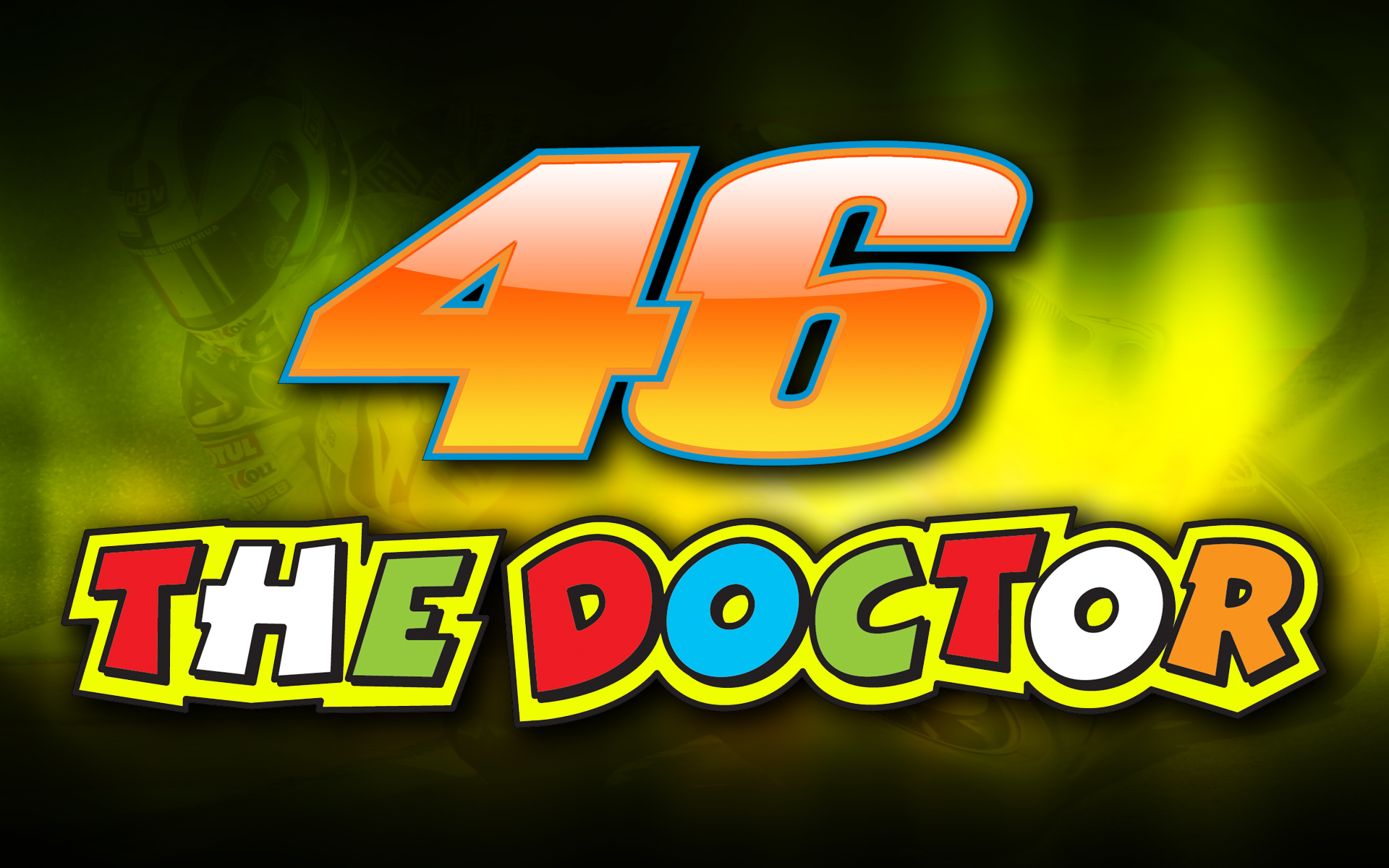 Valentino Rossi The DoctorValentino Rossi The Doctor Font