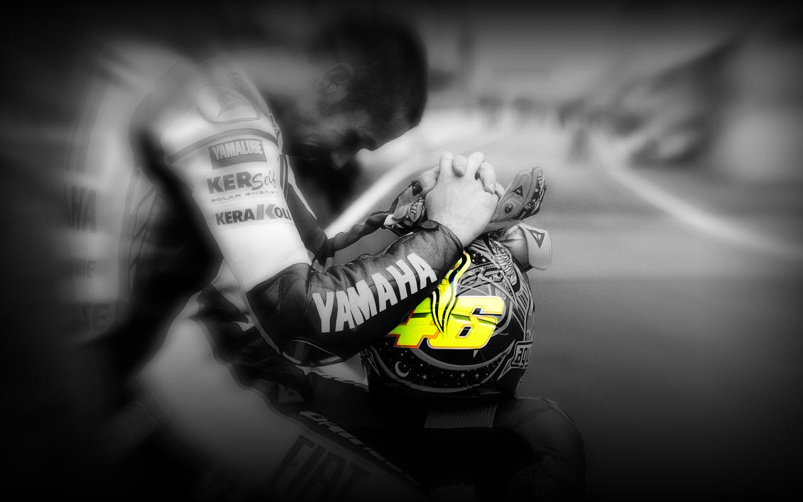 Wallpaper iphone valentino rossi - Salvo 41 17 Valentino Rossi 46 By Ospyder