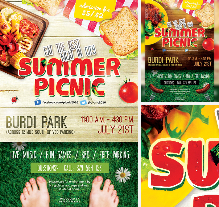 Summer Picnic FREE Flyer / Bestofflyers.com By Bestofflyers ...
