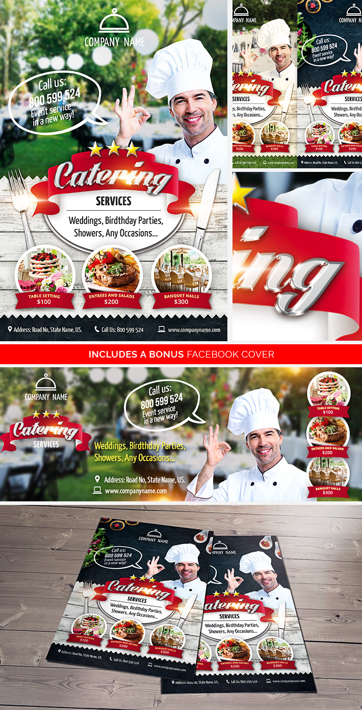 Catering Services FREE Flyer / bestofflyers.com by ...