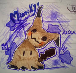 .: Mimikyu with markers :. by Connor168