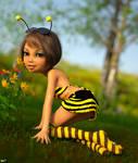 Cherry the honeybee