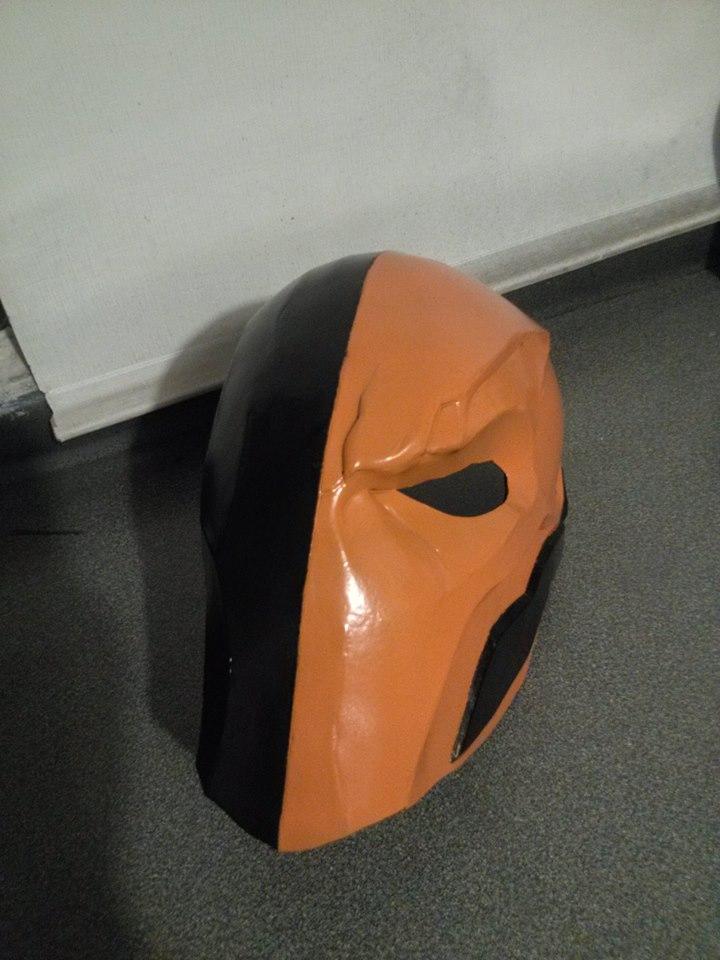 deathstroke mask by lieutenantBL4CK