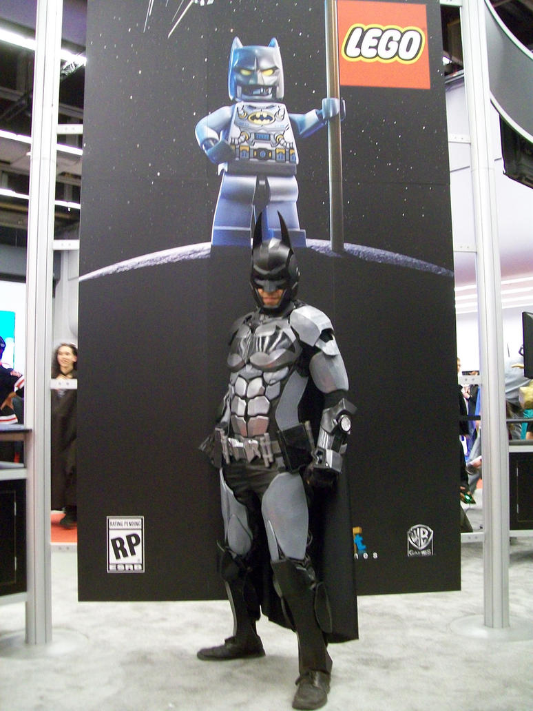 BATMAN cosplay by lieutenantBL4CK