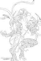 MARY JANE CARNAGE sketch by killbiro