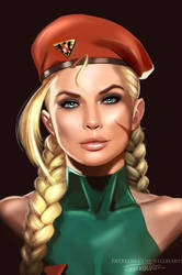 CAMMY WHITE PORTRAIT Viviane Bordin by killbiro