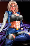 ANDROID 18 DRAGONBALL Z kelly key