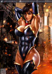 Superwoman Justice League: Crisis on Two Earths by killbiro