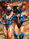 KITANA and FROST  COLOR SKETH
