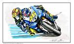 Valentino Rossi MotoGP Racer by ivantremblac