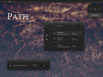 Path VS for Windows 7 (Concept) by FenGenzus
