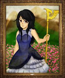 Witch in Azure (Framed Belle)