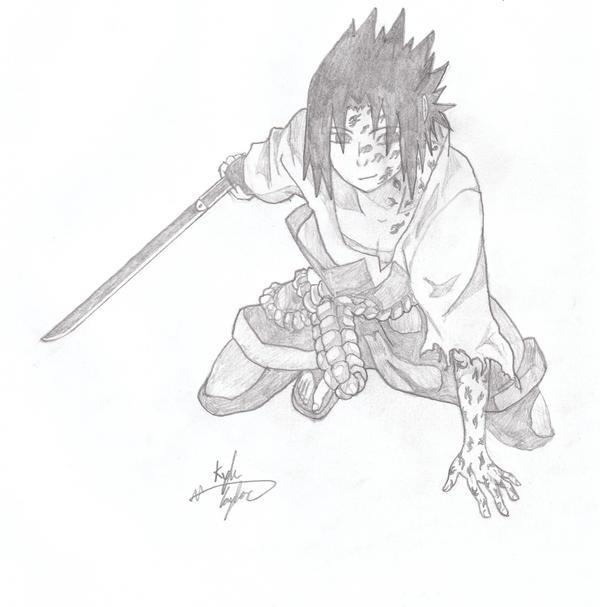 Curse Mark Sasuke by XxStrypheSxX on DeviantArt