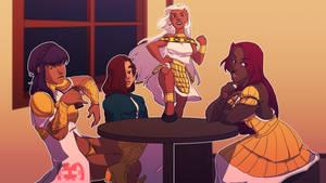 Vassals and their Queen