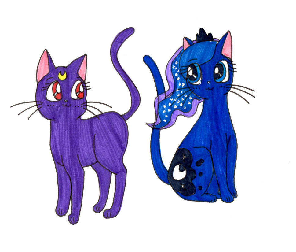 (Sailor Moon) Luna and Princess Luna (MLP) by ...