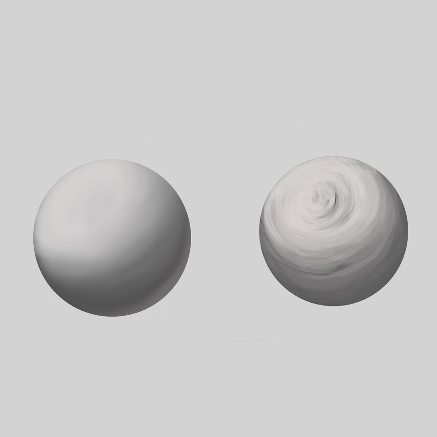 Spheres studies by titan-kaose
