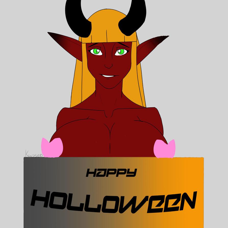 happy holloween form us at kaose by titan-kaose