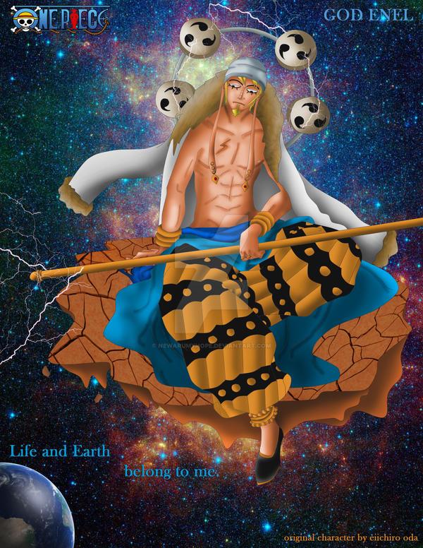 One Piece fan art 'God Enel' after time skip by ...