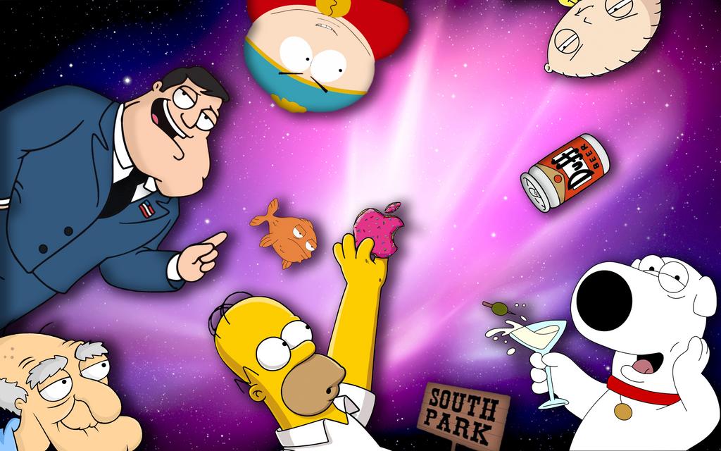 Funny MAC Cartoon Wallpaper By XCactusxQC